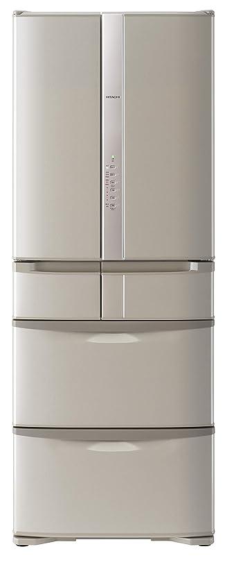 物理的な阻害する石化する日立 冷蔵庫 475L 6ドア フレンチドア 日本製 幅68.5cm 奥行66.0cm うるおいチルド うるおい野菜室 ソフトブラウン R-F48HG T