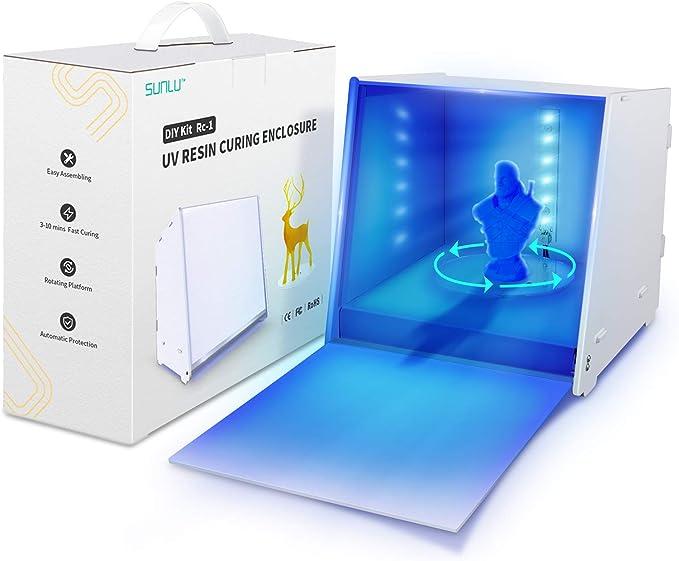 323 opinioni per Resina Lampada UV, SUNLU 405nm Luci UV, Lampada LED Curare Macchina con Timer,
