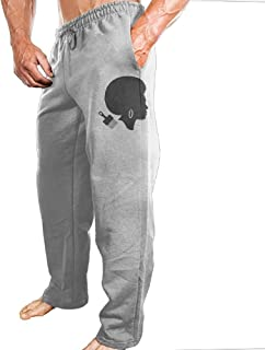 Mens Sports Pants Black Power Chick With Afro Hair Comb And Earrings Sweatpants With Fashion Protruding-body Design For Shopping Four-Seasons Casual Pants