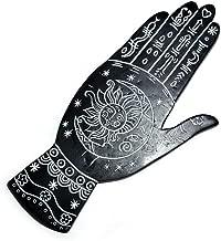 "Anya Nana New Palmistry Hand Incense Burner 7.5"" for Incense Sticks - Painted Resin AN2221"