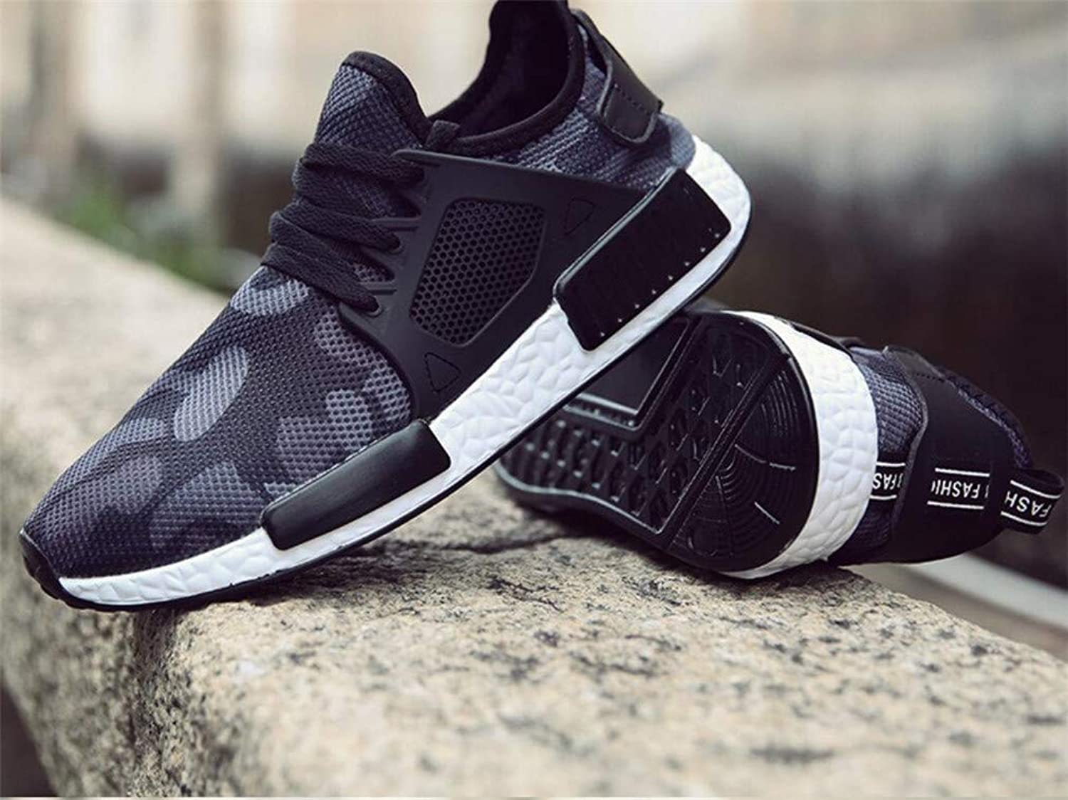 Men shoes,Men's Air Cushion Sports Running shoes Lace-up Casual Sneaker