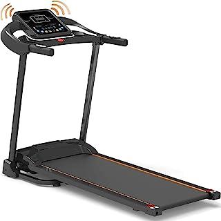 CENTURFIT Caminadora Eléctrica Plegable Motor 1.8 HP Bluetooth App Gimnasio Cardio Cinta Correr Gym Casa 10 km/h Cinta Cor...
