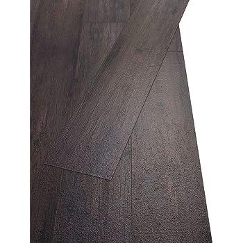 vidaXL Lamas para suelo de PVC autoadhesivas 5,02m² negro y ...