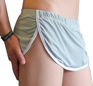 JnZeBly Men Funny Sexy Split Skirt Arpon Design Thong G-Strings Panties
