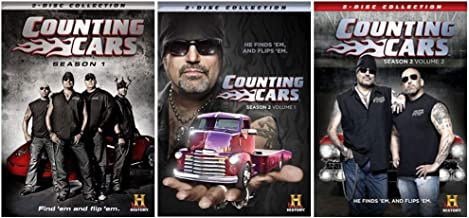 Counting Cars: Reality TV Series Complete Seasons 1-2 Collection - Loaded with Never Before Seen Bonus Footage!