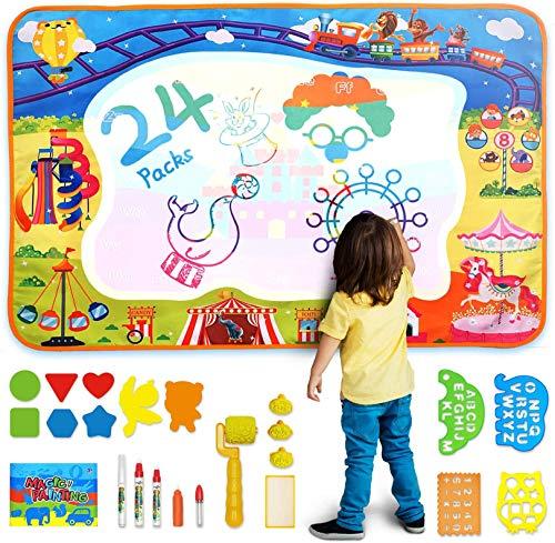 AOLUXLM Dibujo Pintura Juguetes para Niños, Agua Dibujo Pin