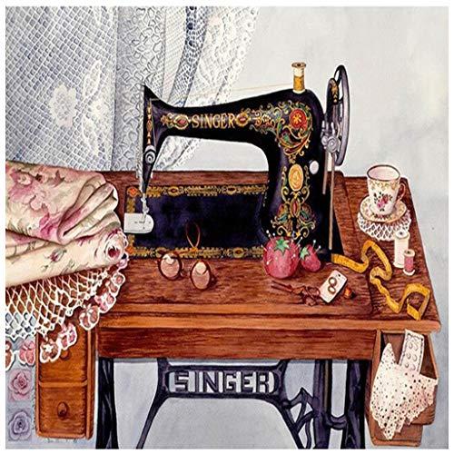 COLUDOR naaimachine DIY 5D volledige boor diamant schilderij borduurwerk kruis steek kit strass huis decoratie ambacht 30x30cm 481