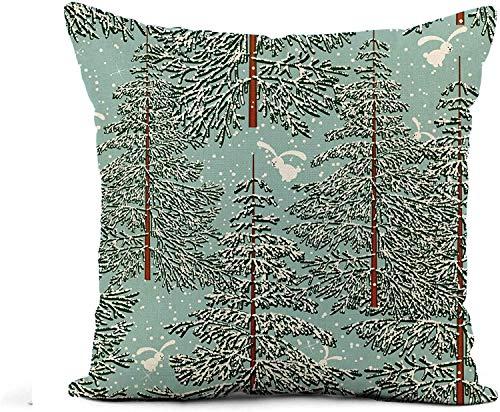 MODORSAN Throw Pillow Cover Beige Doodle Cookies Pattern Sketch on Light Chocolate Chip Home Sofa Decorativo 18'x18' Funda de Almohada Funda de Almohada 21