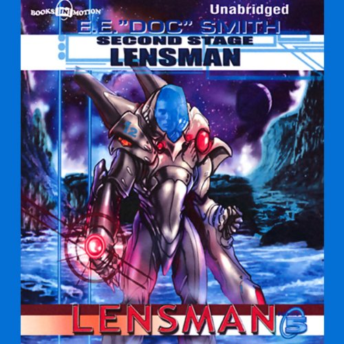 Second Stage Lensman audiobook cover art