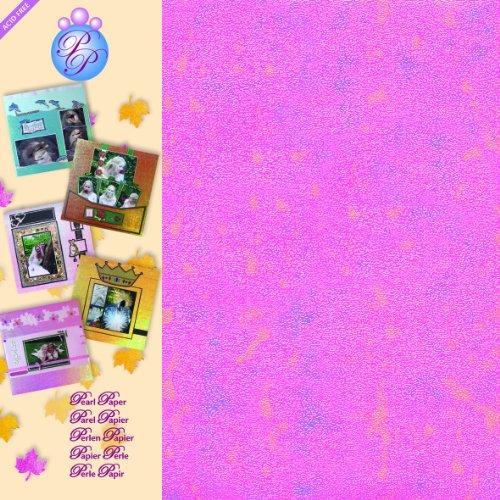 Creativo cm Pearl Carta 30,5x30,5, 5 unità, Rosa