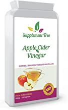 Apple Cider Vinegar 500mg 120 Capsules High Strength ACV Supplement UK Manufactured Suitable of Vegetarians Vegans Estimated Price : £ 8,71
