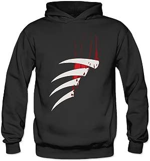 MARC Women's Nightmare On Elm Street Freddy Krueger Pizza Sweater Black
