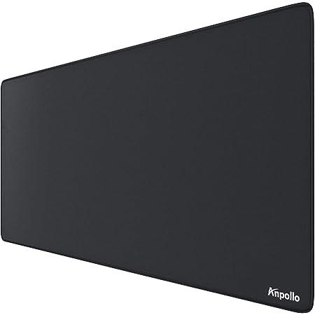 Anpollo Tapis de Souris XXL Gaming Mouse Pad Multifonction Grand sous Main Bureau 900x400x3mm avec pour Jeux et Bureau - Noir modèle aléatoire