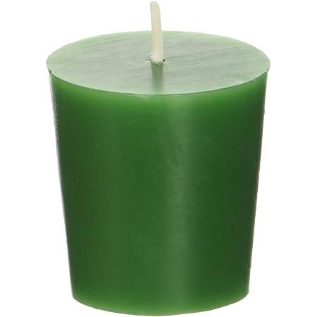 Zest Candle CVZ-012 12-Piece Votive Candles, Hunter Green