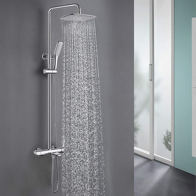 Fire wolf Dusche mischer Duscharmaturen - Moderne Chrom Wandmontage Keramisches Ventil Bath Shower Mixer Taps Messing Einhand Drei Lcher