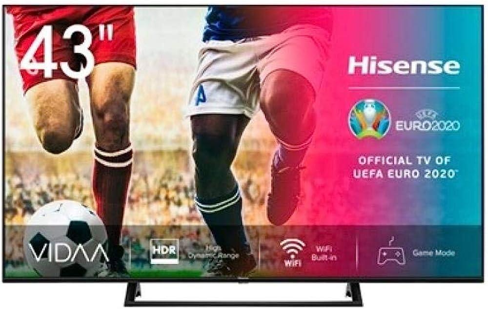 hisense smart tv 43 pollici 4k ultra hd 3840 x 2160 pixel led 14333719