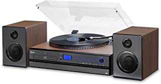 Vitrola com CD, Fm, Usb, Bluetooth e Nfc, Bivolt, Raveo, Aria, 30 W