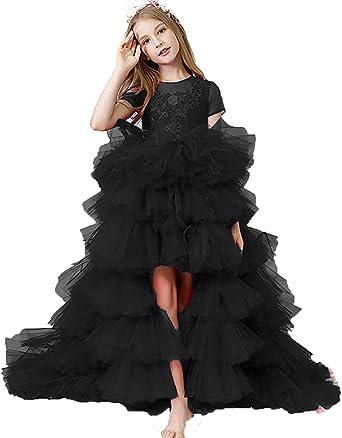 black poofy dress kids
