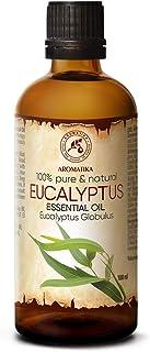 Huile Essentielle Eucalyptus 100ml - Eucalyptus Globulus - Huile Essentielle 100% Naturelle de Eucalyptus - Meilleur pour ...