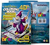 Devar 4D Augmented Reality Come to Life Coloring Books Fairyland
