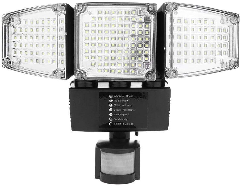 Starnearby 118 LED Solarlampe für Auen, Solarleuchte Solarlicht mit Bewegungsmelder für Garten Auffahrt Hof Balkon und Garage