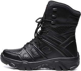 Mdsgfc Botte militaire pour hommes Combat hommes Chukka bottine tactique grande taille armée botte homme chaussures sécuri...