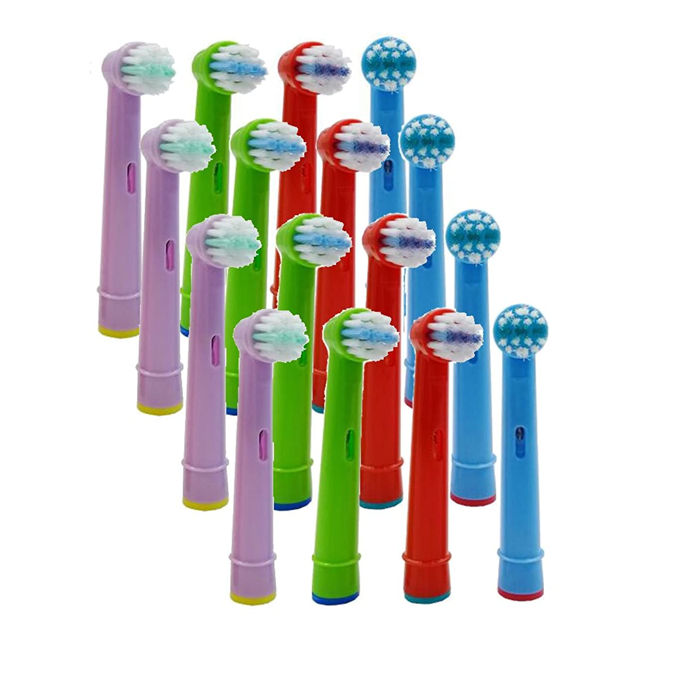 Tooth Brush Heads - 16pcs Replacement Kid Child Tooth Brush Head Electric Toothbrush Fit Health Triumph Excel - OralHeadway Capitulum Strait School Principal Chief Top