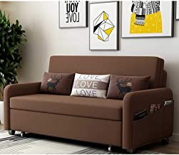 Convertible Sofa Couch Sleeper 3-in-1 Convertible Chair Multi-Functional Adjustable Recliner, Sofa, Bed, Modern Linen Fabr...