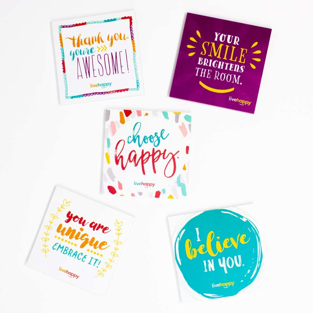Live Happy 2021 spring and summer new Self Stick Notes 3 x Pads 5 Mesa Mall inch Pack Note
