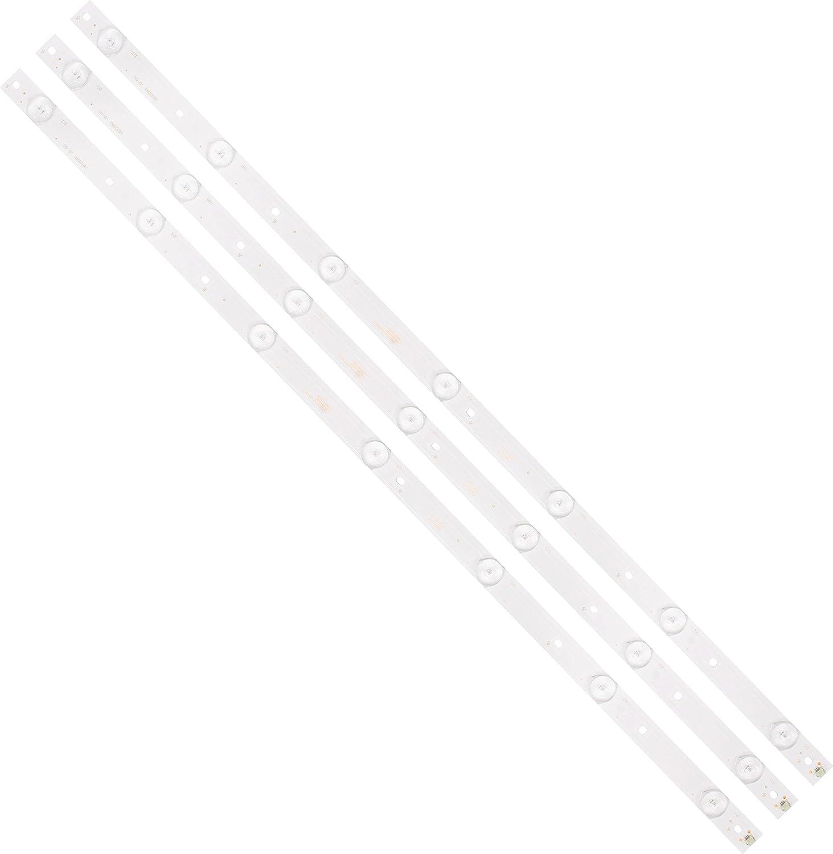 Replacement Part for TV unisex Kit 3 PCS S cheap 620mm 7LED LED 3V Backlight