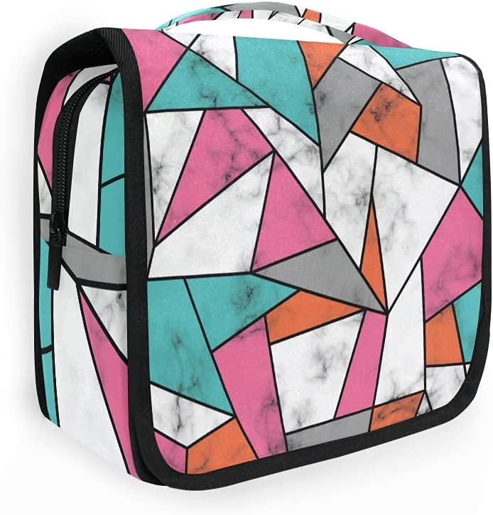 ADAKing Hanging Toiletry Bag Marble Luxu Texture Lines Geometric Be Max 72% OFF super welcome