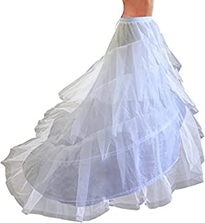KapokBanyan Full White Ball Gown 6 Hoops Wedding Accessories Petticoat Underskirt Slips Quinceanera Gown for Wedding Dress