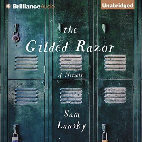 The Gilded Razor audiobook cover art