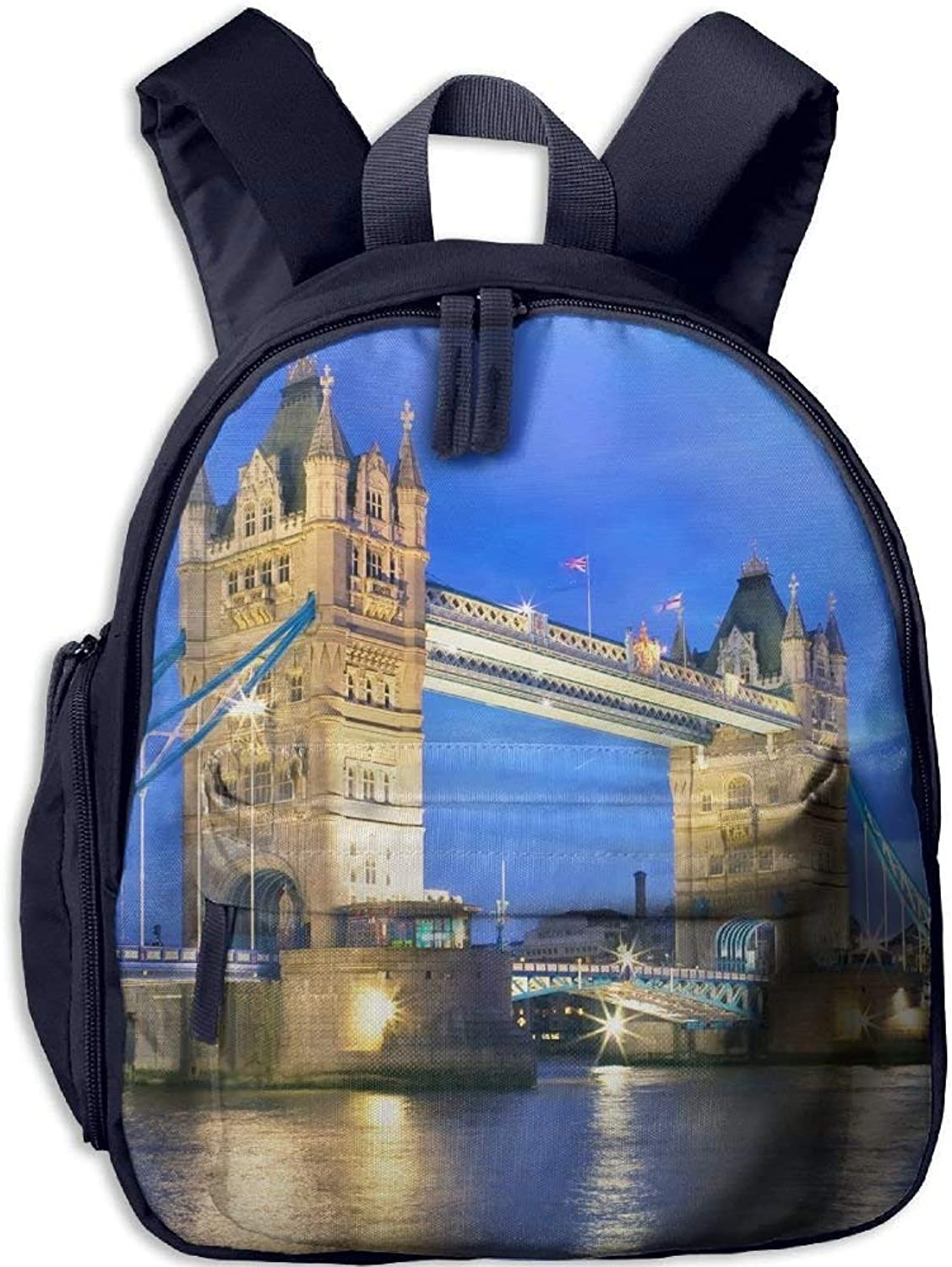 Backpack, School Backpack for Boys Girls Cute Fashion Mini Toddler Canvas Backpack, London Bridge B07LFZ3K1Y  Üppiges Design