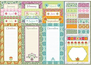 Monthly Notepads Bella Floral