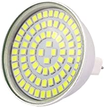 X-DREE 220V 8W MR16 2835 SMD 80 LEDs LED Bulb Light Spotlight Lamp Energy Saving White (4db213ca-a222-11e9-8d7c-4cedfbbbda4e)
