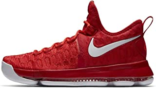 Nike Zoom KD 9 Mens Basketball Trainers 843392 Sneakers Shoes (UK 9 US 10 EU 44, University red White 611)