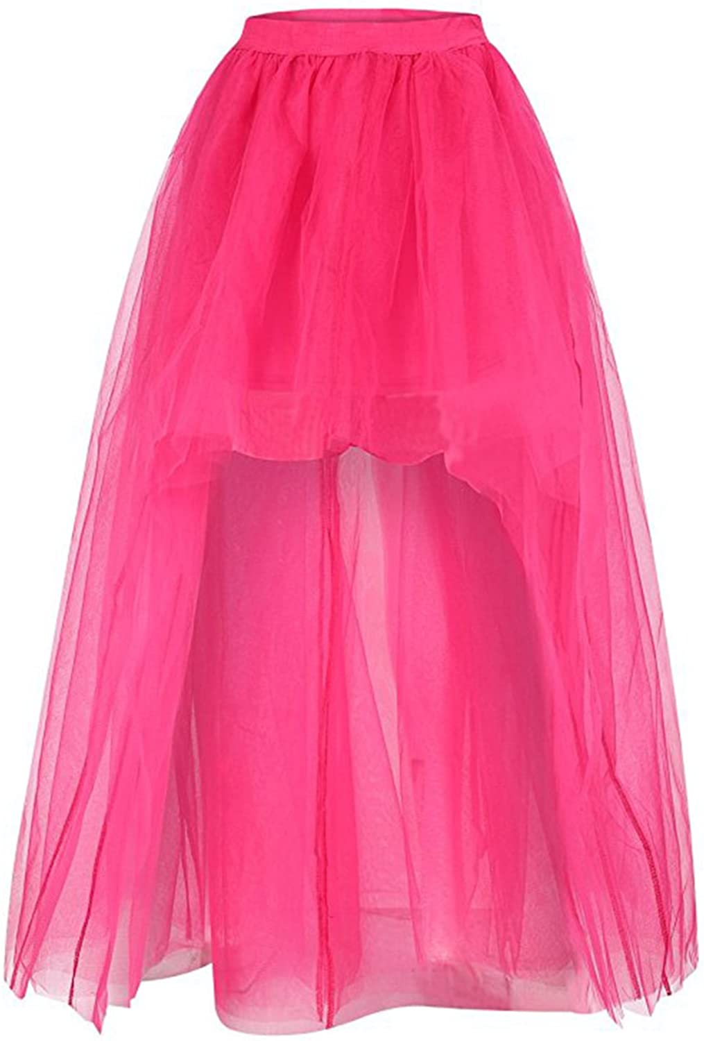 Babyonline High Low Tutu Tulle Skirt Wedding Lowest price challenge Ski Women Fees free!! Party for