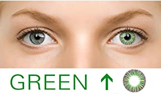 4537fa1d8a Ncient 1Pcs Lentillas 1 año Colores 0 Grados Lentes de Suave para Gran  Diámetro Hermosos Ojos