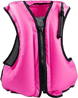 pink roxy life jacket