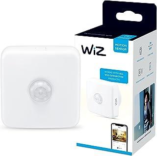 WiZ Bewegingsensor - Automatiseer je Slimme Verlichting Eenvoudig - Werkt op Batterijen - Wi-Fi