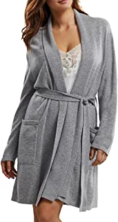 Arlotta Women's Cashmere Classic Short Robe with Shawl Collar 2012