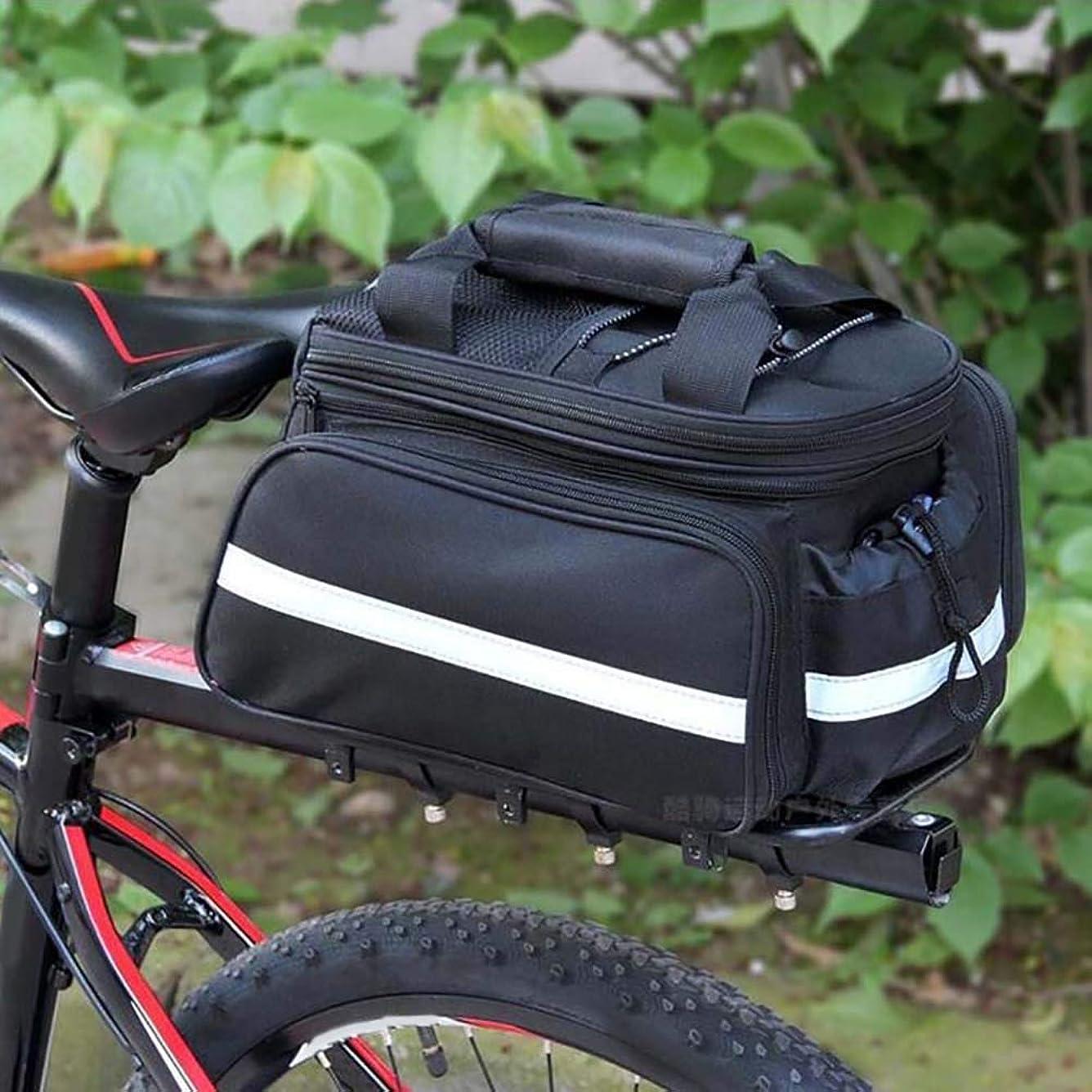 継承トーンブランクLsmaa 自転車後部座席ラックサドルバッグハンドバッグ上の自転車パニエサイクリングEquipmentHandbagBikeサイクリングストレージパニエストラップ (Color : 1)