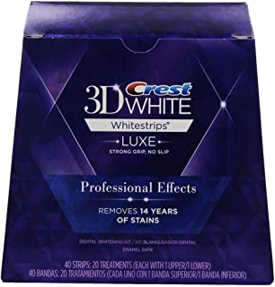 Crest 3D White Professional Effect Whitestrips With Advanced Seal - 40 strips