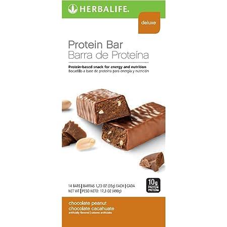 HERBALIFE BarrItas proteínas - Vainilla y almendras 14 uds ...