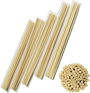 AIWANT Diffuser Stick 12 Inches (30CM) 100 Pieces Aroma Rattan Refill Wood Bamboo Stick Use for Home,Hall,Office,Bedroom,Bathroom,Beauty Salon,Club,Bar