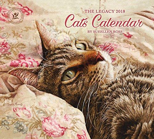 Legacy Publishing Group 2018 12-Month Wall Calendar, Cats Calendar