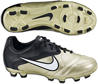 Youth CTR 360 Libretto FG Soccer Cleats (1.5) Gold, Black