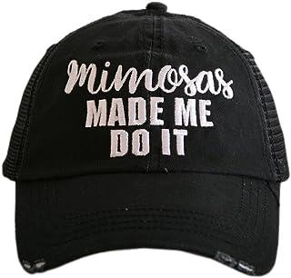 Mimosas Made Me Do It Women s Trucker Hats Caps by Katydid 27cd4b749e6c