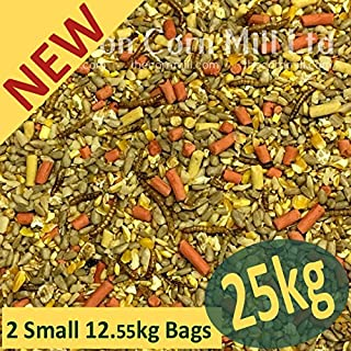 Croston Corn Mill 2x12.5kg (25kg) 'Wheatsheaf' Gourmet ZEgROw Premium Wild Bird Mix (High Energy - No Grow - No Mess)